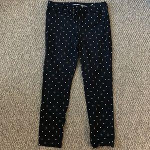 Old Navy Polka Dot Pixie Pants